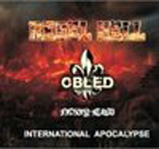 International Apocalypse -3er Split-CD