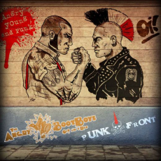 Angry Bootboys / Punkfront - Angry young & punk