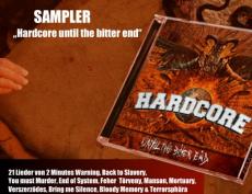 Hardcore until the bitter End - Sampler