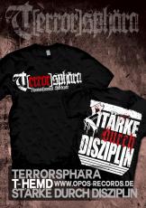 Terrorsphära - Stärke durch Disziplin - Shirt schwarz