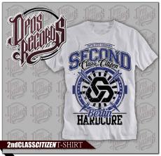Second Class Citizen - Berlin Hardcore - Shirt weiss