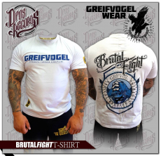 GREIFVOGEL - BRUTAL FIGHT - T-HEMD BLAU