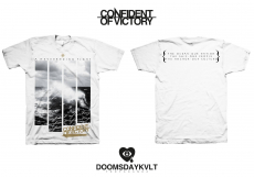 Confident of Victory - A neverending fight - Shirt weiß