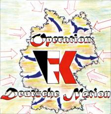 Frontalkraft - Operation Deutsche Nation - LP schwarz