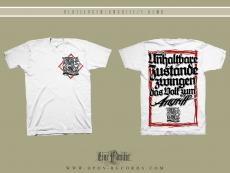 Blutzeugen - Angriff - Hemd weiss