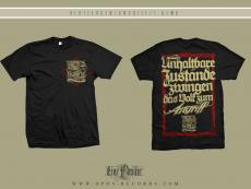 Blutzeugen - Angriff - Hemd schwarz
