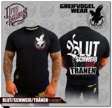 Greifvogel - BLUT / SCHWEIß / TRÄNEN - T-Hemd