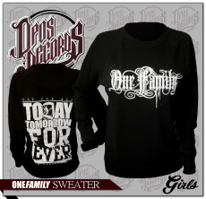 One Family - Damen - Pullover / Sweatshirt