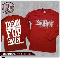 One Family - Longsleeve rot