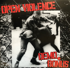 Open Violence - Demo + Bonus - LP-Sonderedition