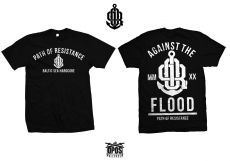 Path of Resistance - Against the flood - Shirt schwarz
