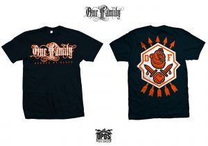 One Family - Bonded by blood - Shirt navy