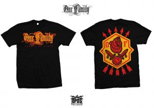 One Family - Bonded by blood - Shirt schwarz