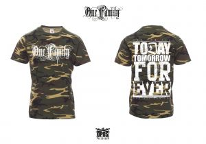 One Family - Shirt camouflage