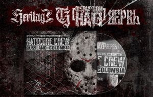 Hatecore Crew - Heritage / Disruption Hate / Verve / Sober Charge - DigiPack (OPOS CD 173)