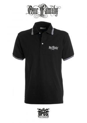 One Family - Herren Poloshirt schwarz