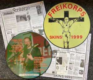 Freikorps - Skins 1999 + Bonus - Picture LP