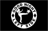 Good Night Left Side - Fahne