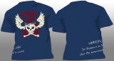Final War - Warning - Shirt blau