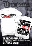 Terrorsphära - Stärke durch Disziplin - Shirt weiß