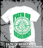 Path of Resistance - MMXIII - Shirt weiß