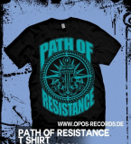 Path of Resistance - MMXIII - Shirt schwarz