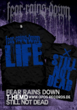Fear Rains Down - Still not dead - Shirt schwarz