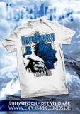 Übermensch - Shirt weiß