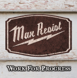 Max Resist - Work For Progress - EP schwarz