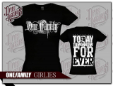 One Family - Girly schwarz