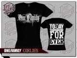 One Family - Girly schwarz