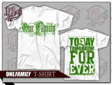 One Family - Shirt weiß
