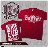 Eine Familie - Shirt rot