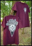 Black Arrows - Shirt burgundy