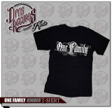 One Family - Kinder Shirt schwarz