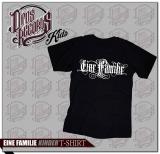 Eine Familie - Kinder Shirt schwarz