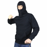 NO FACE NO NAME - BATTLE - KAPUZENPULLOVER