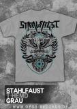 Stahlfaust - Shirt grau
