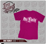 One Family - Kinder Shirt fuchsia