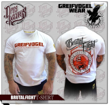 GREIFVOGEL - BRUTAL FIGHT - T-HEMD ROT