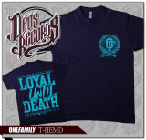 One Family - Loyal until death - Shirt french navy