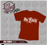 One Family - Kinder Shirt rot