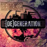 Übermensch / Blutlinie - [De]generation - Doppel-LP schwarz