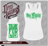 One Family - Damen Tank Top weiß