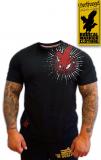Greifvogel - BLUT UND EISEN - T-Hemd schwarz