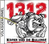 Volksgemurmel - 1312 keiner mag die Bullerei - CD