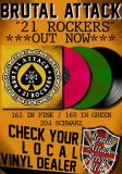 BRUTAL ATTACK - 21 ROCKERS - LP