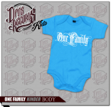 One Family - Kinder Body blau