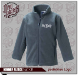 One Family - Kinder - Fleecejacke grau
