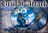 Brutal Attack - Tales of Glory - Picture LP